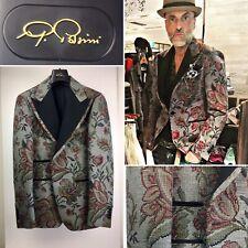 Gabriele Pasini Smocking Jacket 2015 New Giacca Damasco Verde