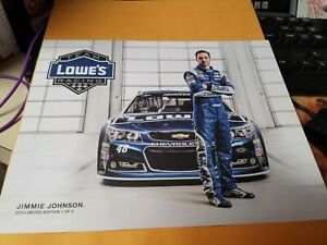 Jimmie Johnson Lowes # 48    Photo Postcard  2015  (One of 3)  limited edition