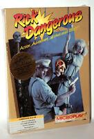 RICK DANGEROUS MICROPLAY GIOCO NUOVO COMMODORE 64 EDIZIONE AMERICANA FR1 54709