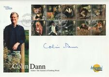 16 SEPTEMBER 2004 WOODLAND ANIMALS HAND SIGNED BY COLIN DANN FIRST DAY COVER SHS