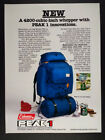 1978 Coleman PEAK 1 780 Backpack & Camping Stove vintage print Ad photo
