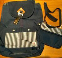 SOARPOP Drawstring Backpack | Laptop Bag |Overnight Weekend Bag Roomy+ Bonus Bag
