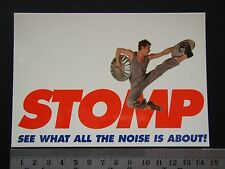 STOMP SEE WHAT ALL THE NOISE IS ABOUT! ADVERT PROPAGANDA POSTCARD