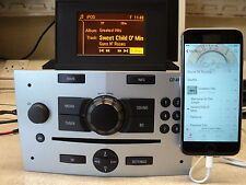 CORSA CD40 USB MP3 Aux In D Iphone Etc Radio CD (plata) con pantalla emparejado GID