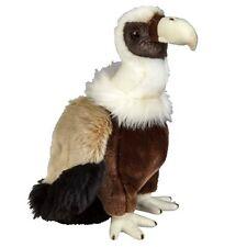 Ravensden Soft Toy Vulture 28cm -frs004v Animal Griffon Bird of Prey White Brown