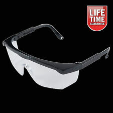 New Protective Clear Lens Safety Glasses Work Spectacles Eye Protection Eyewear