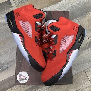 Nike Air Jordan 5 Retro Raging Bull Red (2021) DD0587-600 Size 9