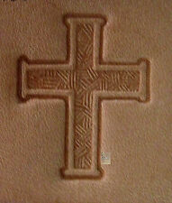 Craftool - Tandy Leather Factory - 3D Stamp 8338 - Cross 88338-00