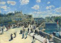 Auguste Renoir - HUGE A1 size 59.4x84cm QUALITY Canvas Print Poster Unframed