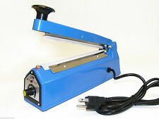 "12"" Heat Sealing Hand Impulse Poly Sealer Closer Machine W/ Element Grip"
