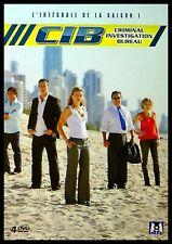 Dvd : Coffret - CIB - Criminal, Investigation, Bureau - Saison 1 - 4 DVD