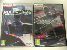 * PC NEW SEALED 2 Game Bundle * POLE POSITION 2012 & F1 RACING MANAGER 2014