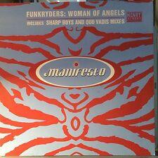 """Funkryders – Woman Of Angels - Manifesto FESX 87 VINYL 12"""" HOUSE"""