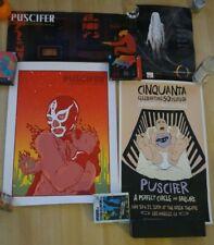 Puscifer Poster Print Lot Maynard A perfect circle Damaged