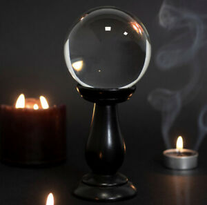 Pagan/Wiccan Small Crystal Ball With Stand