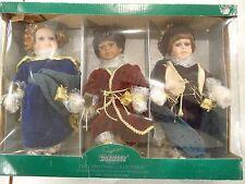 Vintage Seymour Mann Set Of 3 The Christmas Collection -The Three Wise Men Nib