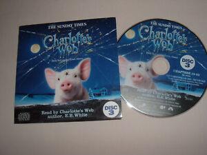 E.B. White's Charlotte's Webb Part 3 promo CD Read by Author 66 mins