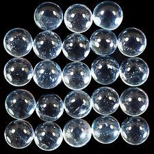23 Pcs Natural Blue Topaz Wholesale Lot 5mm Round Cabochon Top Quality Gemstones