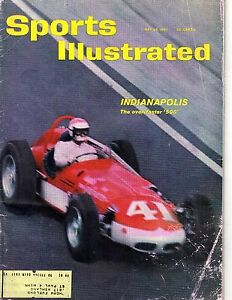 1961 (May 29) Sports Illustrated, magazine, Auto Racing, Indianapolis 500 ~ Poor