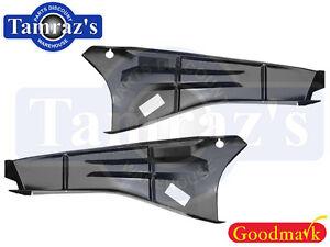 for 66-67 Chevy II Nova Trunk Drop Off / Extension Filler Panel Pair Goodmark