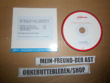 CD Pop Kyau & Albert - The One (3 Song) Promo EUPHONIC