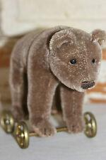 Steiff 4.75 Inch Bear On Wheels 1905 Replica 0085/12 Limited Edition