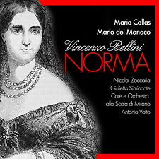 CD Norma avec Maria Callas de vincenzo Bellini 2cds