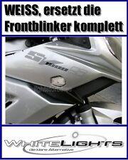 weisse LED Blinker Verkleidungsblinker Suzuki SV 650 1000 clear fairing signals