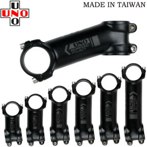 31.8mm Bike Stem ±7/17/35°UNO Al Alloy MTB Road Bike handlebar bar Stem 60-130mm