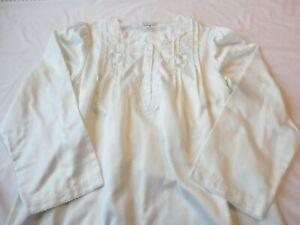 Miss Elaine Nightgown Long Light Green Cuddleskin Size Large