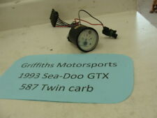 1993 93 Seadoo GTX 587 twin carb 92 fuel gauge gas level oil light