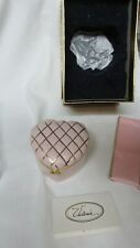 Valerie Parr Hill - Pink 'Quilted' Top - Music Box - New In Box