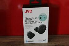 JVC HA-A10T Memory Foam True Wireless Headphones Black