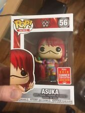 Exclusive Asuka 2018 SDCC Funko Pop Vinyl New in Mint Box + Protector In Hand
