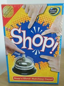 """SHOP"" Snap ""n"" Shout Matching Game by Chartwell Games Age 8+, NEW STILL SEALED"