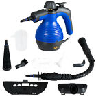 Multifunction Portable Steamer Household Steam Cleaner 1050W W/Attachments Blue photo