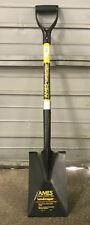 Ames Tools Garden Spade with Fiberglass Handle and Ergo D-Grip - 1345400