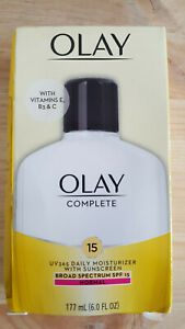 NEW OPEN Olay Complete All Day Moisture SPF Skin Cream 6oz EXP 01/2023 FREE SHIP