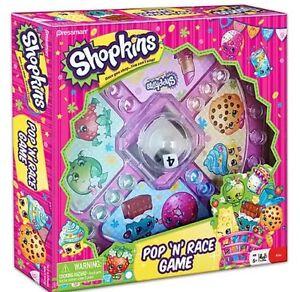 Shopkins Pop 'N' Race Games Set Free S&H