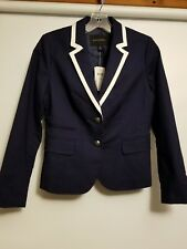BANNANA REPUBLIC JACKET BLUE AND WHITE 4P NWT