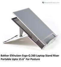 "Bakker Elkhuizen Ergo-Q 260 Laptop Stand Riser Portable Upto 15.6"" For Posture"