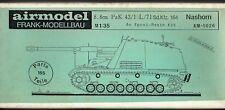 AIRMODEL PRODUCTS AM-1026 - 8.8cm PaK 43/1 L/71 Sd.Kfz.164 NASHORN - 1/35 RESIN