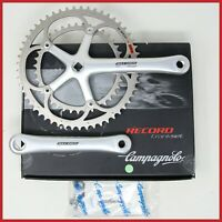 NOS CAMPAGNOLO RECORD CRANKSET 172.5mm 53-39T UD EPS 10s SPEED SQUARE TAPER BIKE