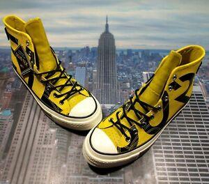 Converse Chuck 70 Hi High Top Gore-Tex Bold Citron/Black Mens Size 8 163226C New