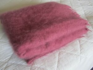 Mohair throw / blanket by Morgan and Finch from Australia.