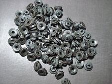 "100 pcs 1/8"" emblem name plate black thread cutting nuts sealer fits LaSalle"