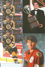 Ray Bourque 8-Lot 5-Panini 5X7 Photo Cards w/Samsonov Awards 3-Beckett Magazine