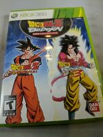 Dragon Ball Z: Budokai HD Collection (Microsoft Xbox 360, 2012) No Manual