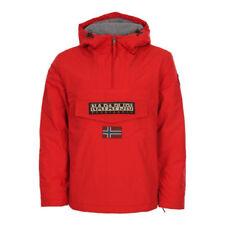 Cappotti e giacche da uomo parke rossi marca Napapijri