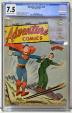 ADVENTURE COMICS #139 CGC 7.5 w Superboy Johnny Quick Green Arrow 1949